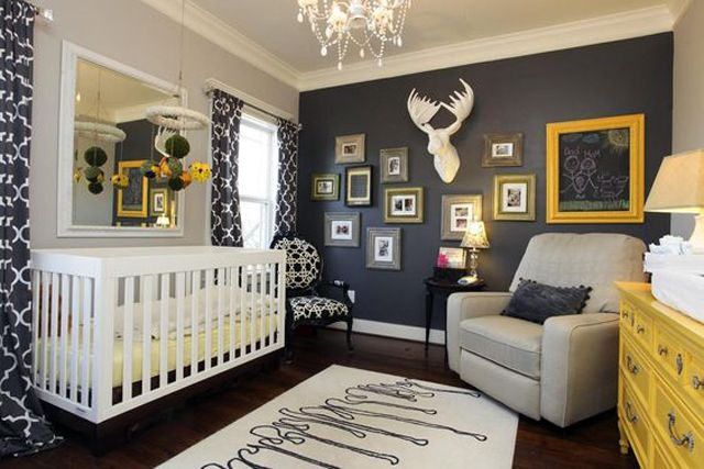 Best Gender Neutral Color Schemes For A Baby S Nursery Grey 640 x 480