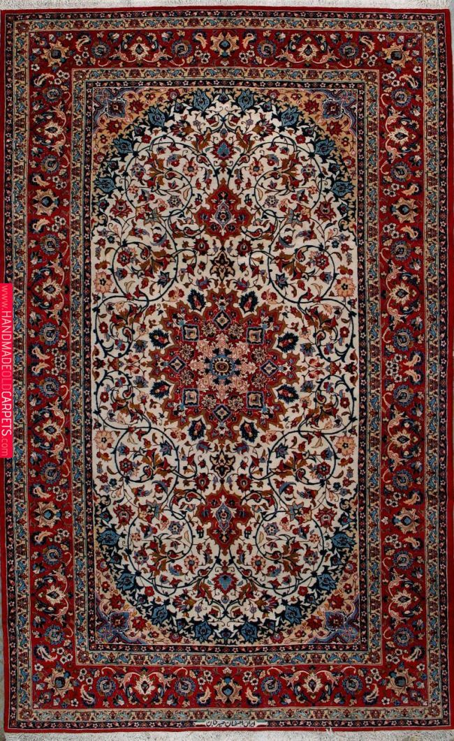 Buy Esfahan Persian Rug 6 7 X 10 10 Authentic Esfahan Handmade Rug Esfahan Persian Rugs In 2019 Pinterest Persian Rug Ru Persian Rug Antique Persian Carpet Rugs