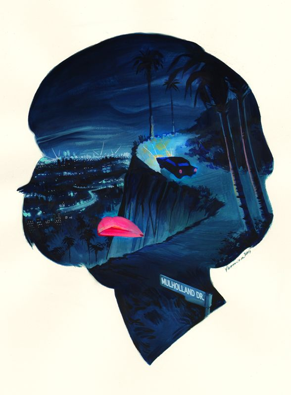 Veronica Fish Illustration: Mulholland Drive @ Crazy 4 Cult 5 - Gallery 1988