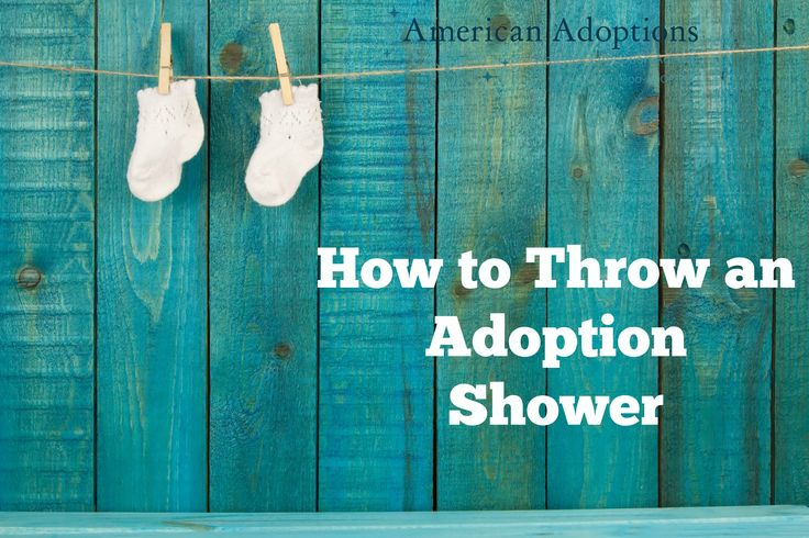 Easy tips for throwing a baby shower for adoptive parents!
