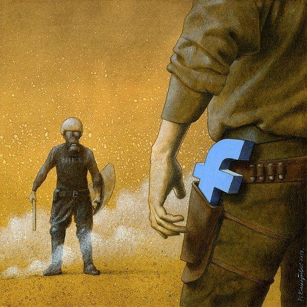 """A """"guerra da verdade"""" no facebook, pelo qual todos brigam para impor suas opinioes e crenças."""
