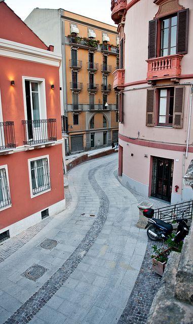 Via Sulis, Villanova, Sardinia, Italy