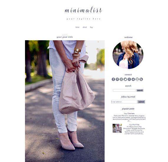 17 besten Blogger Templates Bilder auf Pinterest | Blogger-Vorlagen ...