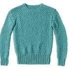Tolle Farbe, tolles Muster - mit dem Perlmuster-Pullover stricken wir uns einen warmen Begleiter für den Winter. Der hat das Zeug zum Winterliebling!