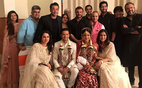 Now, this is a real surprise. Actor Vatsal Sheth married his girlfriend of two years, Ishita Dutta in a hush hush ceremony at Mumbai's ISKCON Temple. No one was informed about the wedding and everyone is pretty surprised by the decision. The two met on the sets of the Life Ok...