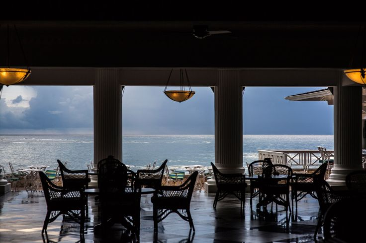 Have breakfast with this stunning view of the ocean at Half Moon Resort in Montego Bay.