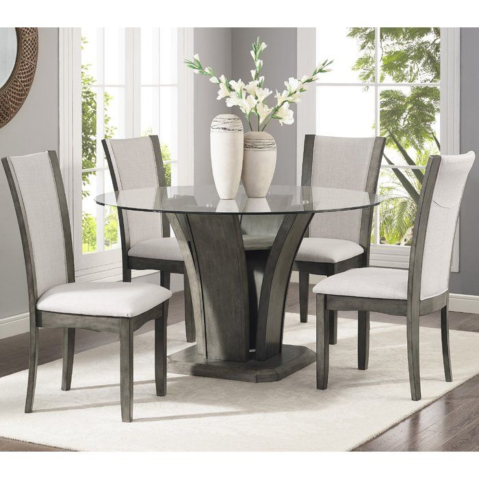 Marnie 5 Piece Dining Set Dining Table Setting Dining Room Sets Dining Room Design