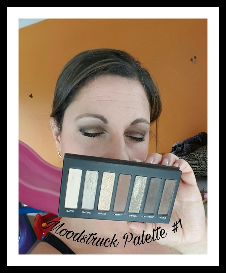 Younique palette 1. Browns and gold shimmery shadows. Click image for product site.
