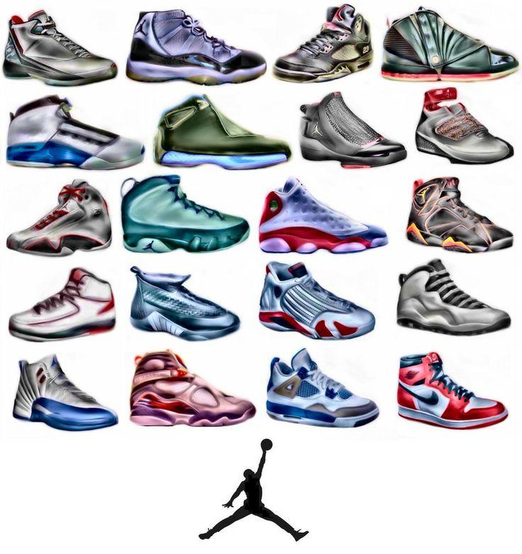 air jordan shoes 1 through 23