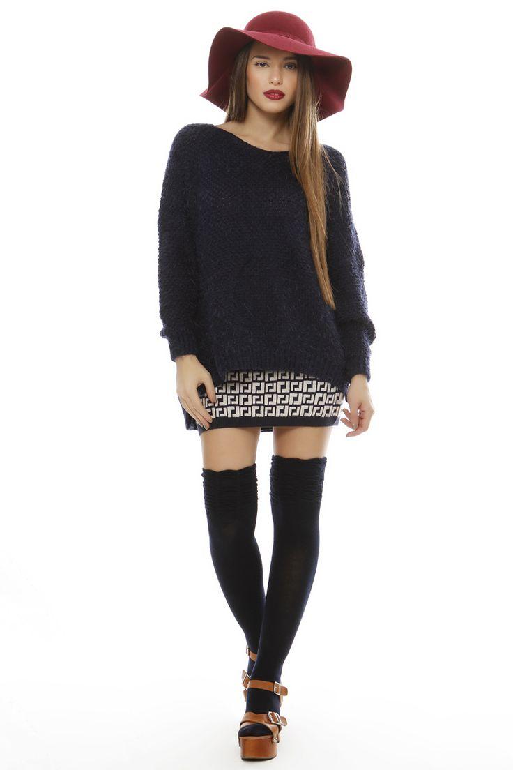 Fluffy Oversize Sweater - ΡΟΥΧΑ -> Μπλούζες | Made of Grace