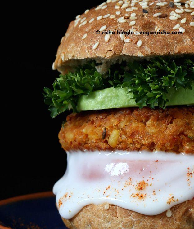 10 recetas de hamburguesas vegetales que te encantarán - El tarro de ideasEl…