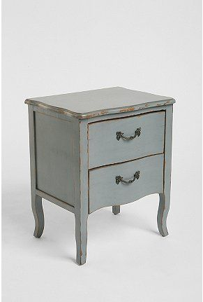 side table (love that blue)