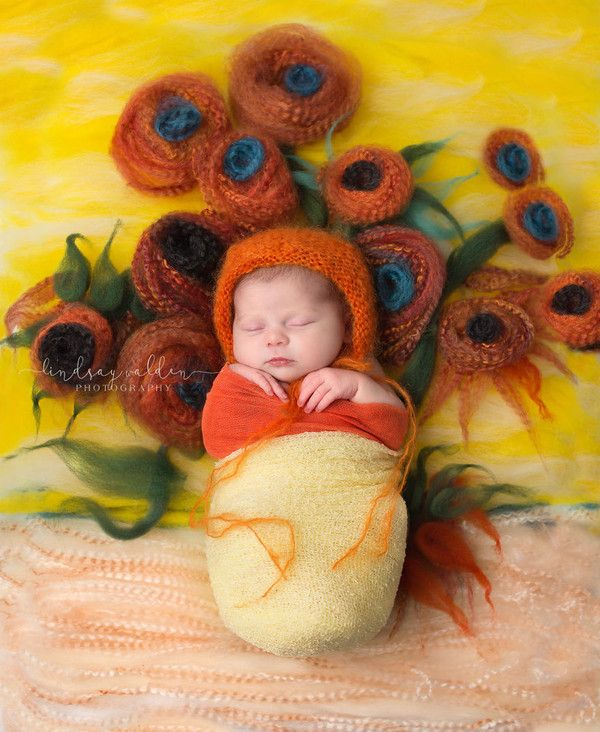 Фотограф снимает новорожденных, конструируя фон по мотивам шедевров мировой живописи Фотография, младенцы, живопись, длиннопост