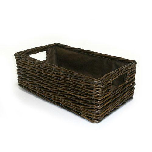 Charming Canopy Handwoven Rectangular Media Basket $9.97