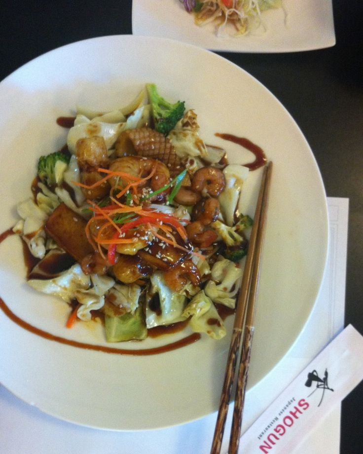Shogun's Seafood Teriyaki - something a little different tonight