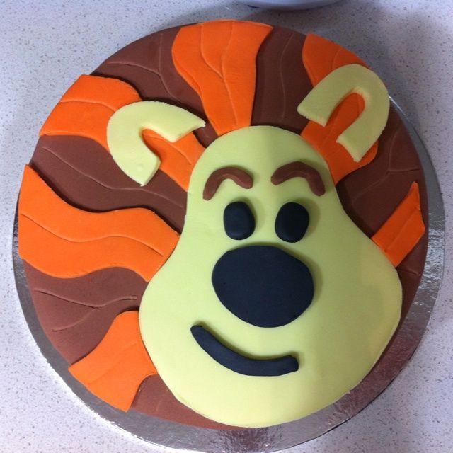 My Raa The Noisy Lion Cake Cakes For Babies cakepins.com