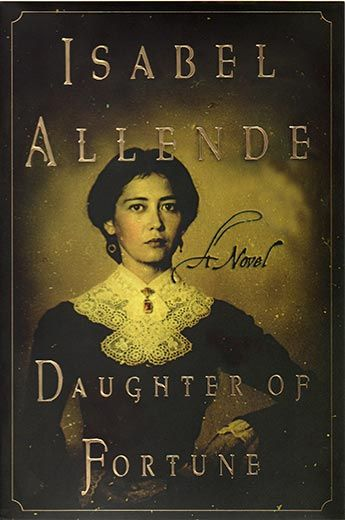 I LOVE this book about a young woman from Chile who runs away to California during the gold rush. Beautifully written by Isabelle Allende. I just love female heroines!
