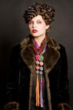 Collection bijoux by PITI - collier créateur fait main- pièce unique- chez La Voisine du Dessous- concept store -toulouse
