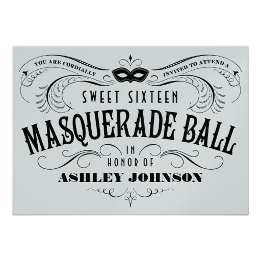the 25+ best masquerade invitations ideas on pinterest, Invitation templates