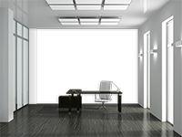 3d astratto spirale di s o in bianco e nero • Fotomurale, quadro, poster, adesivo • compendio • PIXERS.it