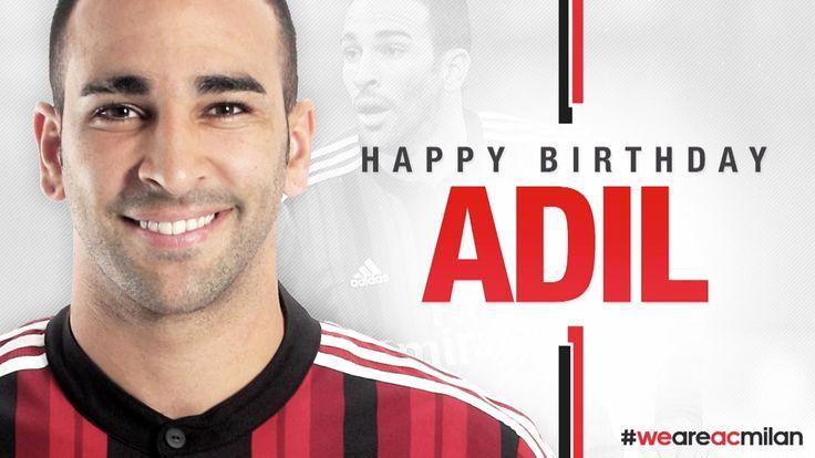 Buon compleanno Rami! Happy Birthday Adil! | AC Milan Official