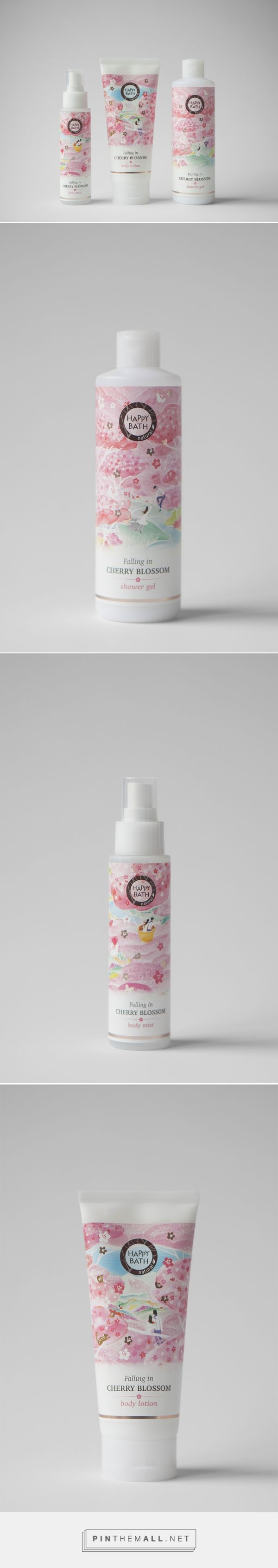 HAPPYBATH 'FALLING IN CHERRY BLOSSOM' | cosmetics by Joseph Park