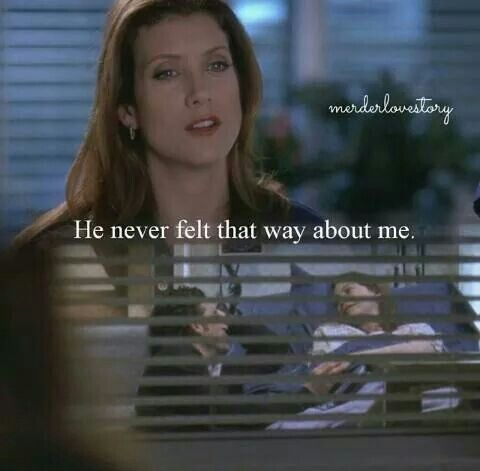 Oh Addison it was never gonna work out for you and Derek anyways. Meredith is the real love of his life.