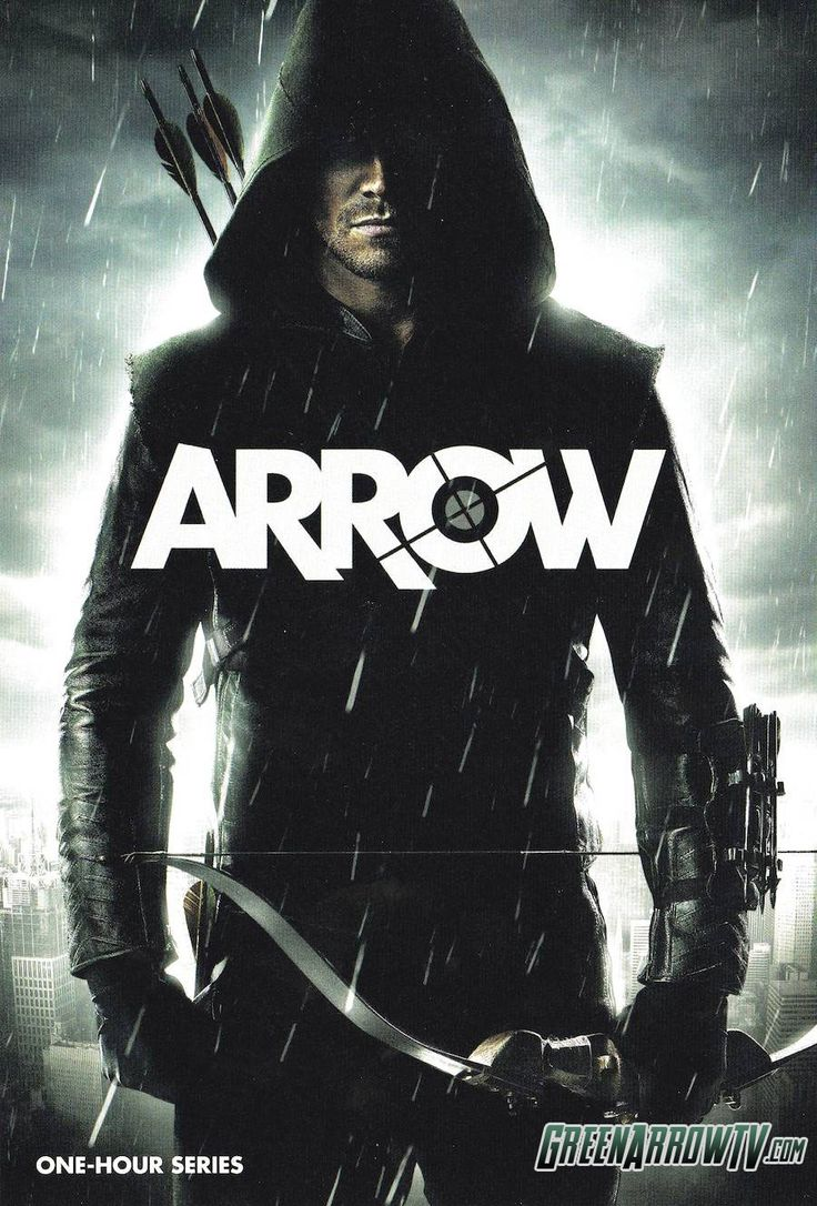 The CW has released this new poster for the upcoming Green Arrow series Arrow, which looks like it could end up being an awesome show.