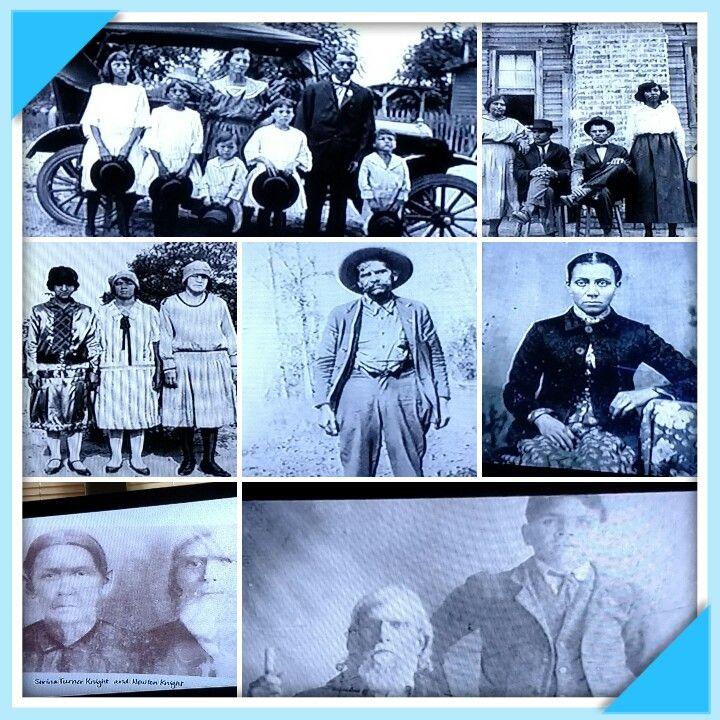 Newton Knight & his family's