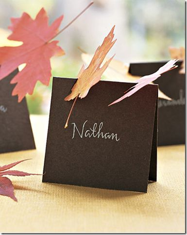 64 best Place card holder ideas images on Pinterest   Harvest table ...