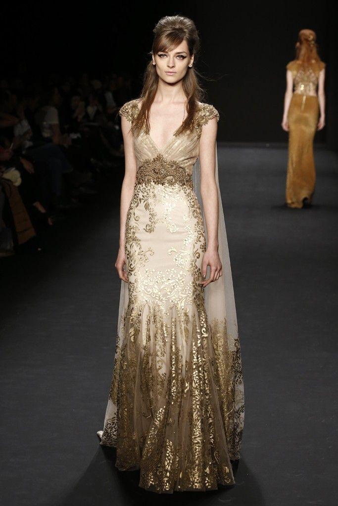 Badgley Mischka RTW Fall 2015 - Slideshow - Runway, Fashion Week, Fashion Shows, Reviews and Fashion Images - WWD.com