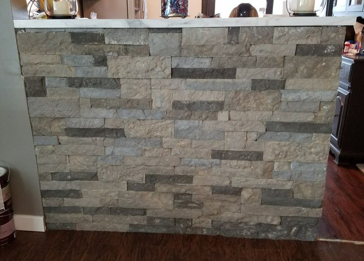 Wall after installing Airstone