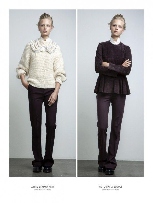 anne-sofie-madsen-04Anne'S Sofie Madsen Fw2012, Knits Collars, Knits Fashion, Wear