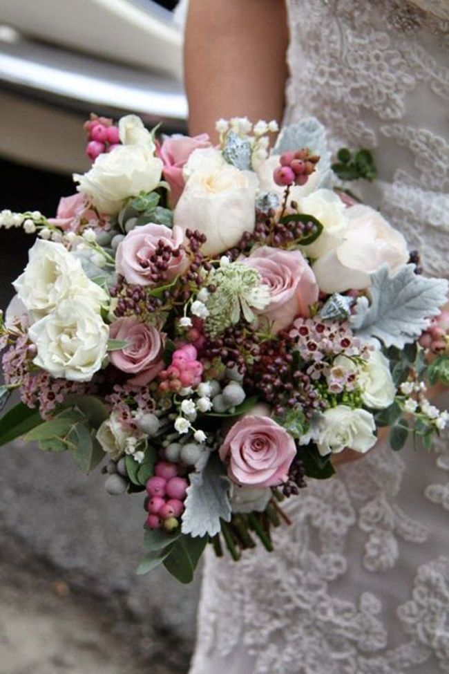 Autumn Wedding Flowers Bouquet Inspiration