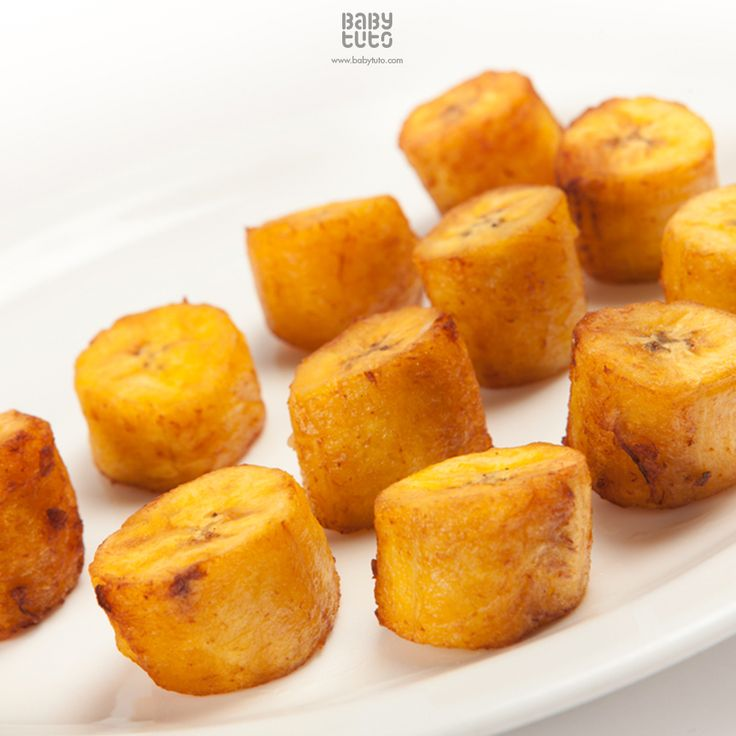 #BabyRecetas | Plátanos fritos a la hora del postre: http://bbt.to/1Exp2s9