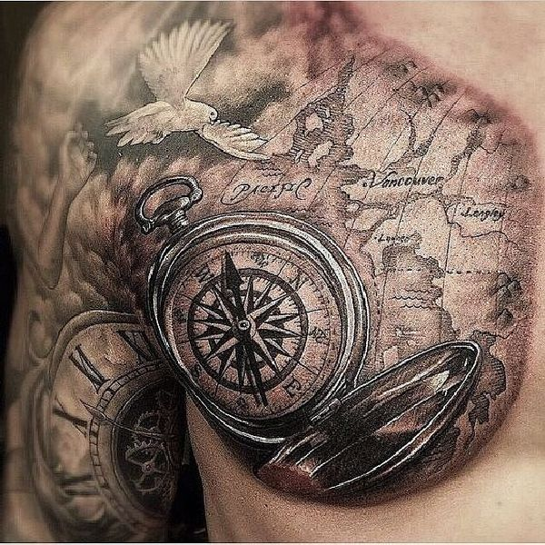 Tattoo-Compass-20