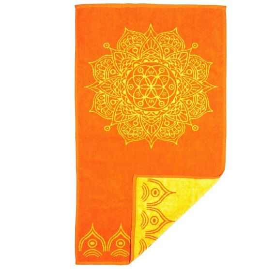 Unique Orange Hand Towels Ideas On Pinterest Patterned Large - Orange patterned towels for small bathroom ideas