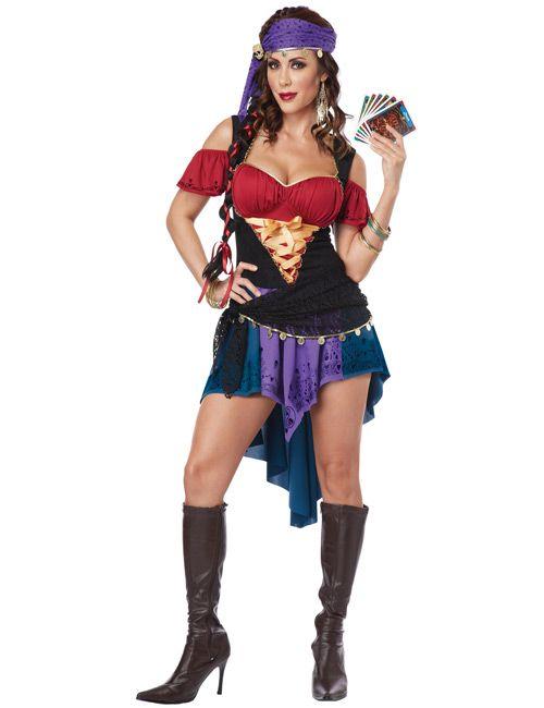 Sexy Wahrsagerin #Kostüm für Damen!  Kategorie: Karnevalskostüme Klassiker. Retro Outfits und Verkleidungen für die Fünfte Jahreszeit! #Fasching #Fasnacht #Karneval