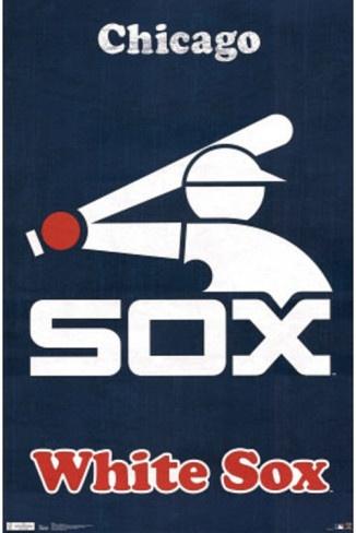 Chicago White Sox Retro Logo Poster