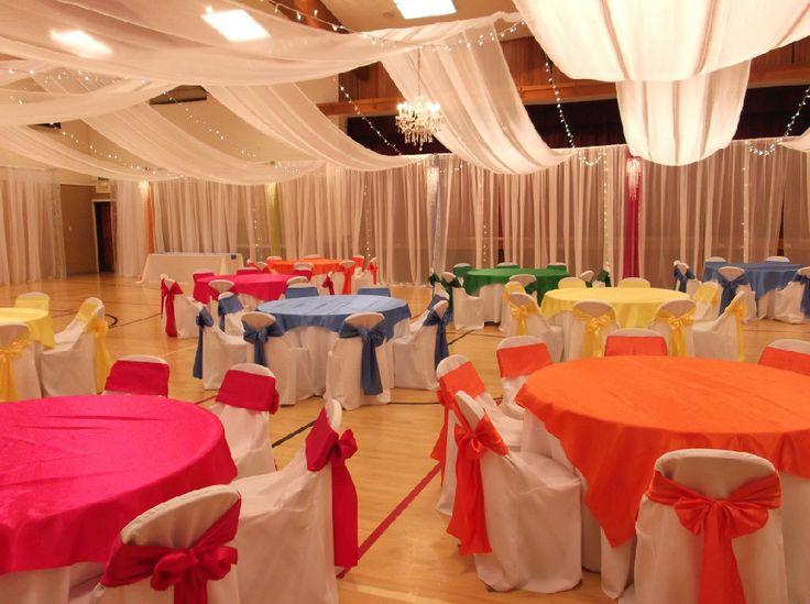 Wedding Reception In Gym
