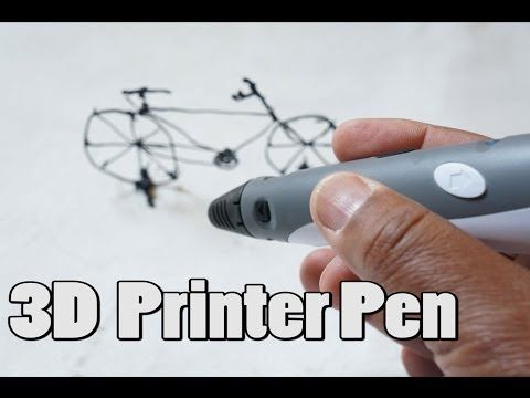 3D Printer Pen - awesome fun with this $79 handheld 3D printer [Review] - YouTube