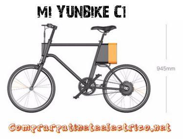 La bicicleta eléctrica Mi Yunbike C1 una de las mejores del fabricante Xiaomi