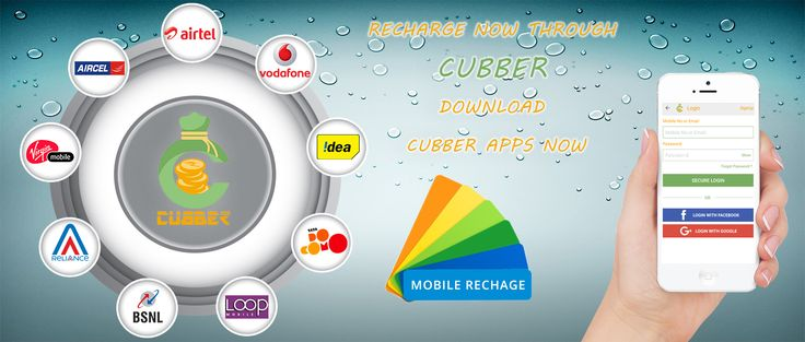 #RechargeOnline with the #CubberApp. All telecom providers recharges accepted. Visit http://cubber.in/ For more details. #OnlineRecharge #CubberWallet #Rechargingonline