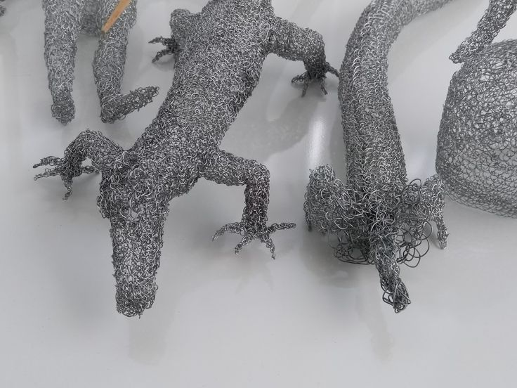 S.Tarnanen: Fairy tales (detail). 2017 Metal wire