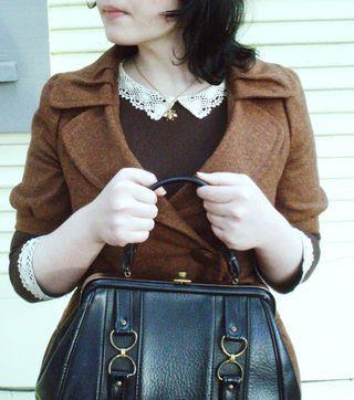 Emily Winfield Martin   The Black Apple. Adorable purse/jacket/collar.