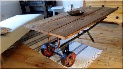 Industrial loft - Stílusos bútorok