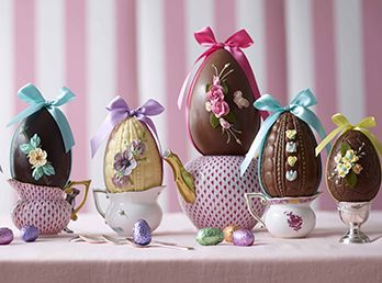 Handmade Easter Eggs at Fortnums