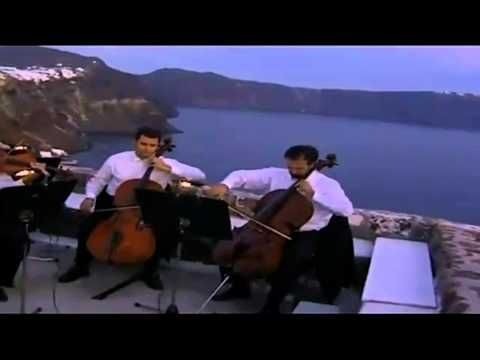 ▶ Manos Xatzidakis - Gioconda's Smile HD 1080p (Santorini - Orchestra of Colours) - YouTube