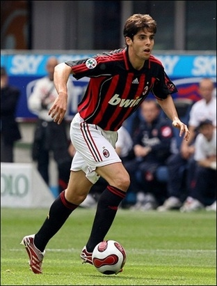 ~ Kaka on AC Milan wearing Adidas Predator Absolute ~