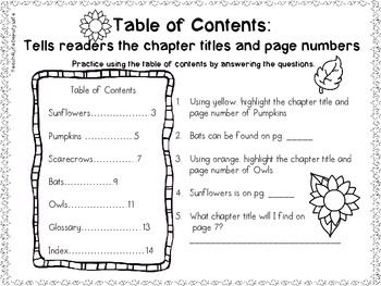 Non-Fiction-Text-Features-First-Grade-2092675 Teaching Resources - TeachersPayTeachers.com